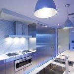 Подсветка низа кухни