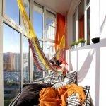 Радиусный балкон
