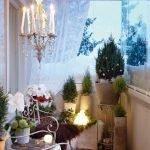 Зимний сад на Новый год