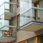Застекленный балкон снаружи