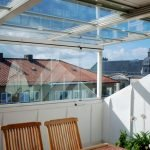 Пластиковые окна на балконе