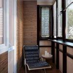 Оригинальный интерьер балкона