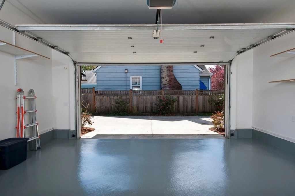 Покрытие пола в гараже