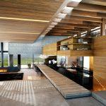 Деревянный потолок и балки