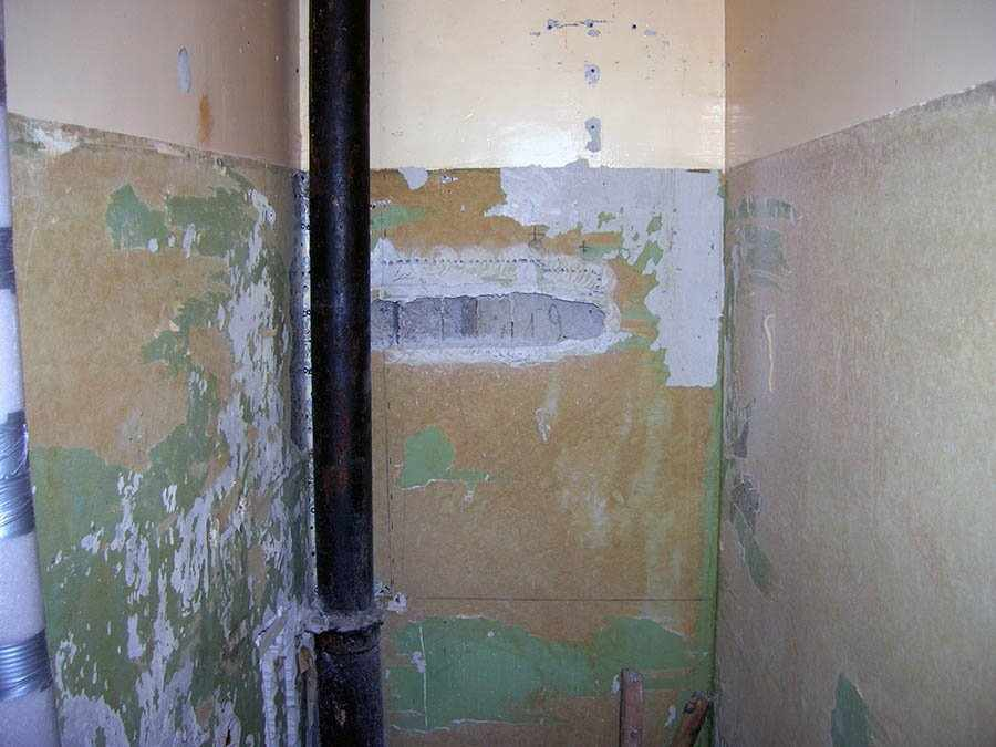 Стены туалета