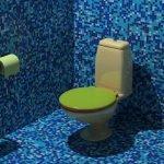 Отделка туалета выбор цвета идеи