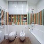 Отделка туалета какой выбрать цвет