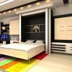 Встроенная откидная кровать