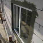 Штукатурка на окнах