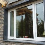 Наружные откосы на окнах