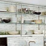 Полки для кухни из алюминия