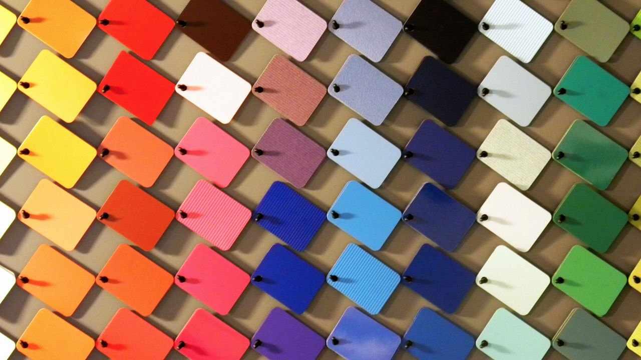 Разнообразие палитры красок