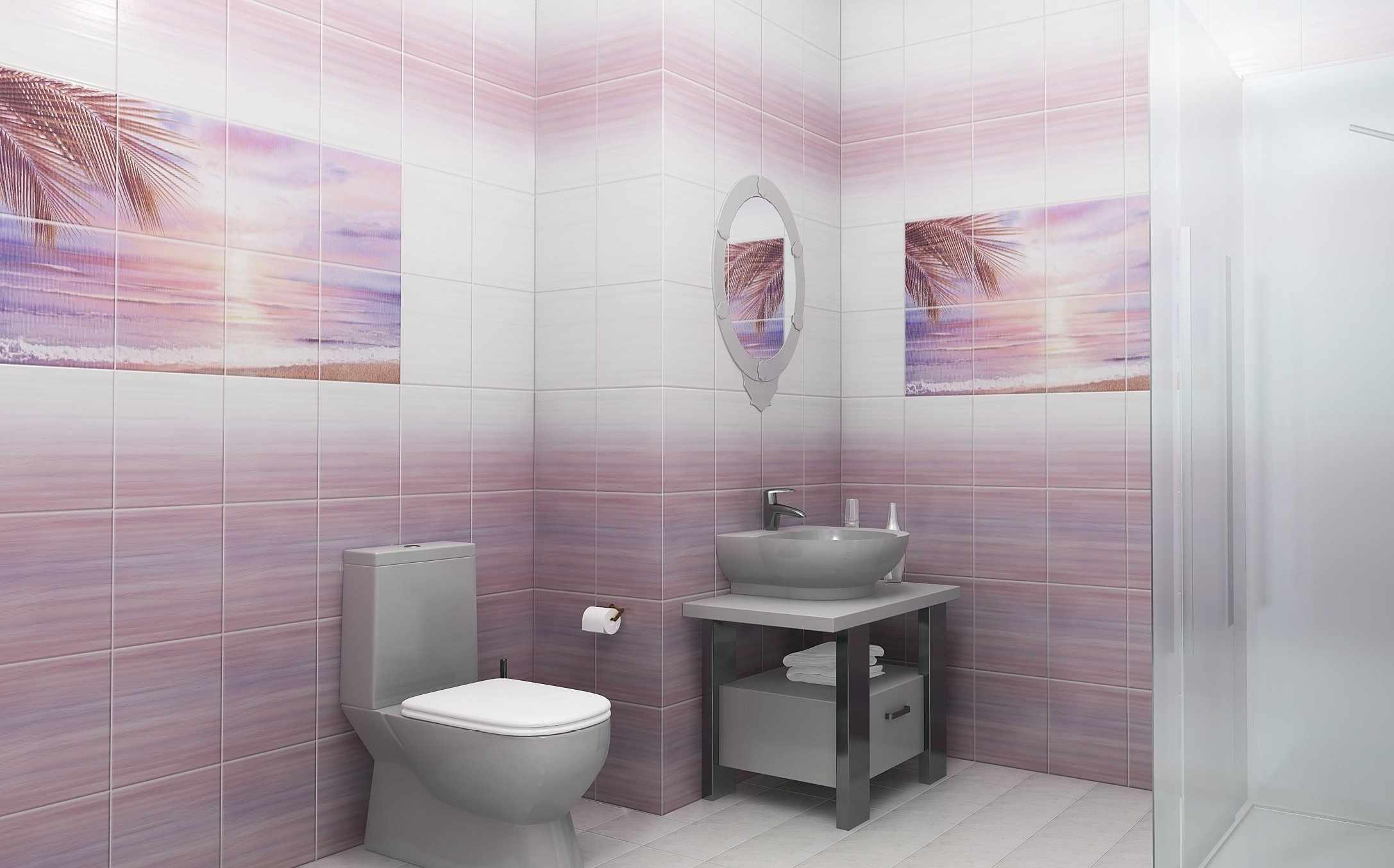 Панели пвх в интерьере ванной