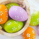 Разноцветные яйца