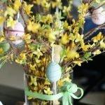 Красивое пасхальное дерево