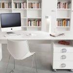 Белый стол в интерьере