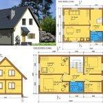Схема дома 6 на 6