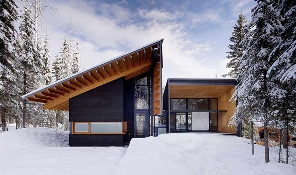 Дом в стиле минимализм