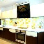 Дизайн линейной кухни