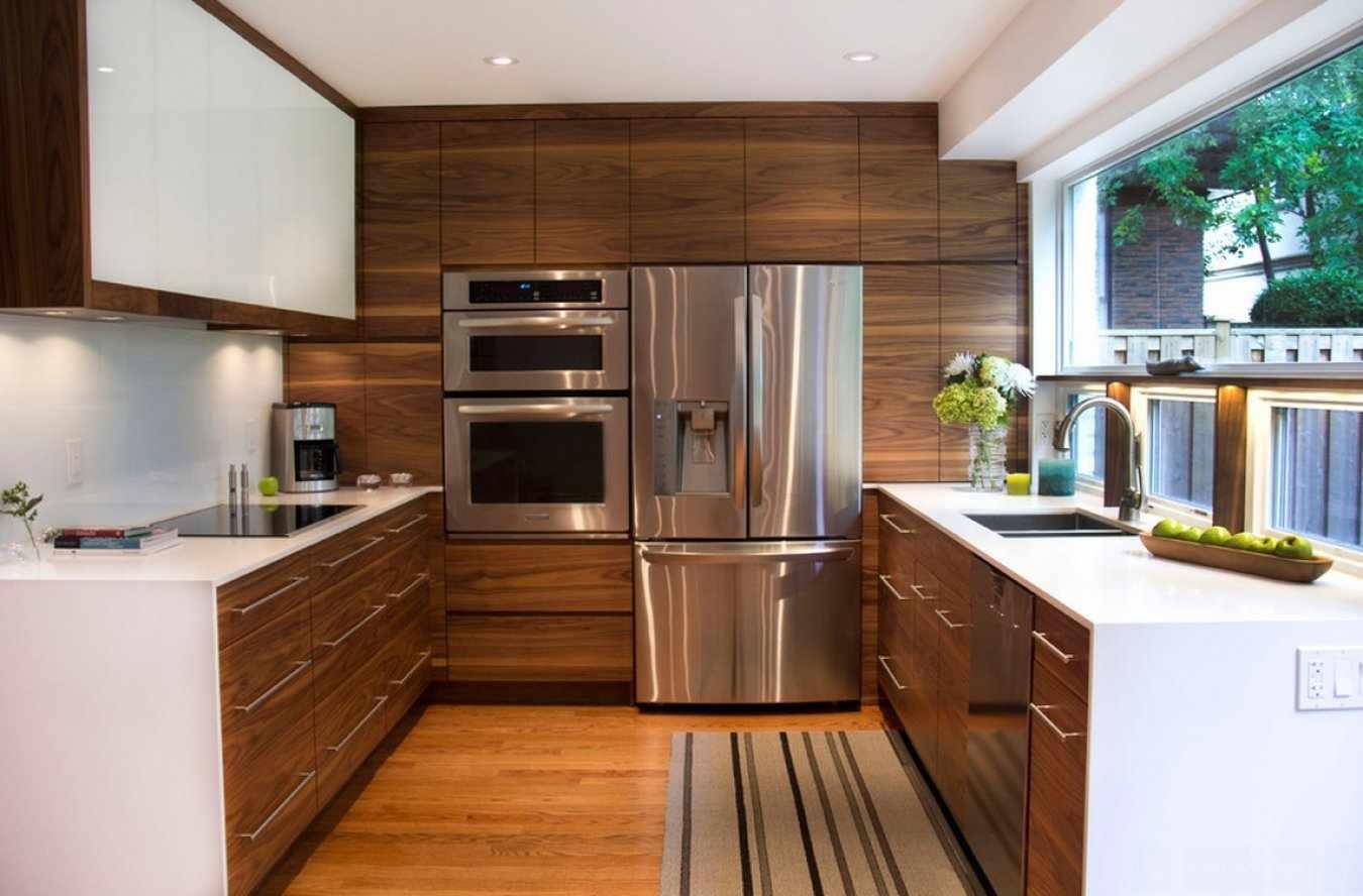 Идеи дизайна П-образной кухни