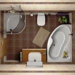 Ванная планировка