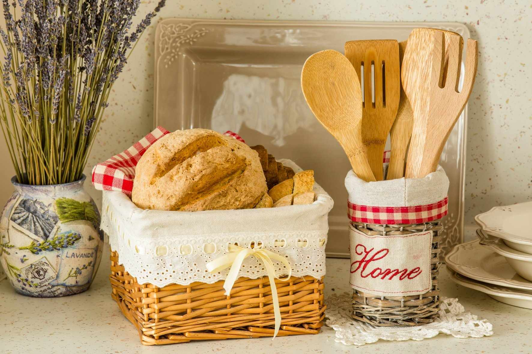 Плетеный набор для кухни