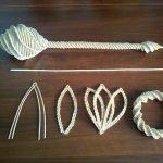 Варианты декоративного плетения из газетной лозы