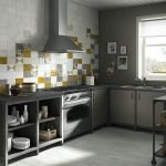 Металлическая вытяжка на кухне