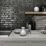 Серые тона в дизайне кухни