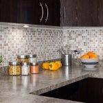 Мозаика в дизайне кухни
