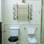 Стиль прованс в дизайне туалета