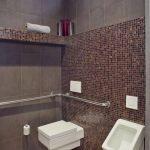 Плитка и мозаика в дизайне туалета