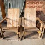Кресла на крыльце