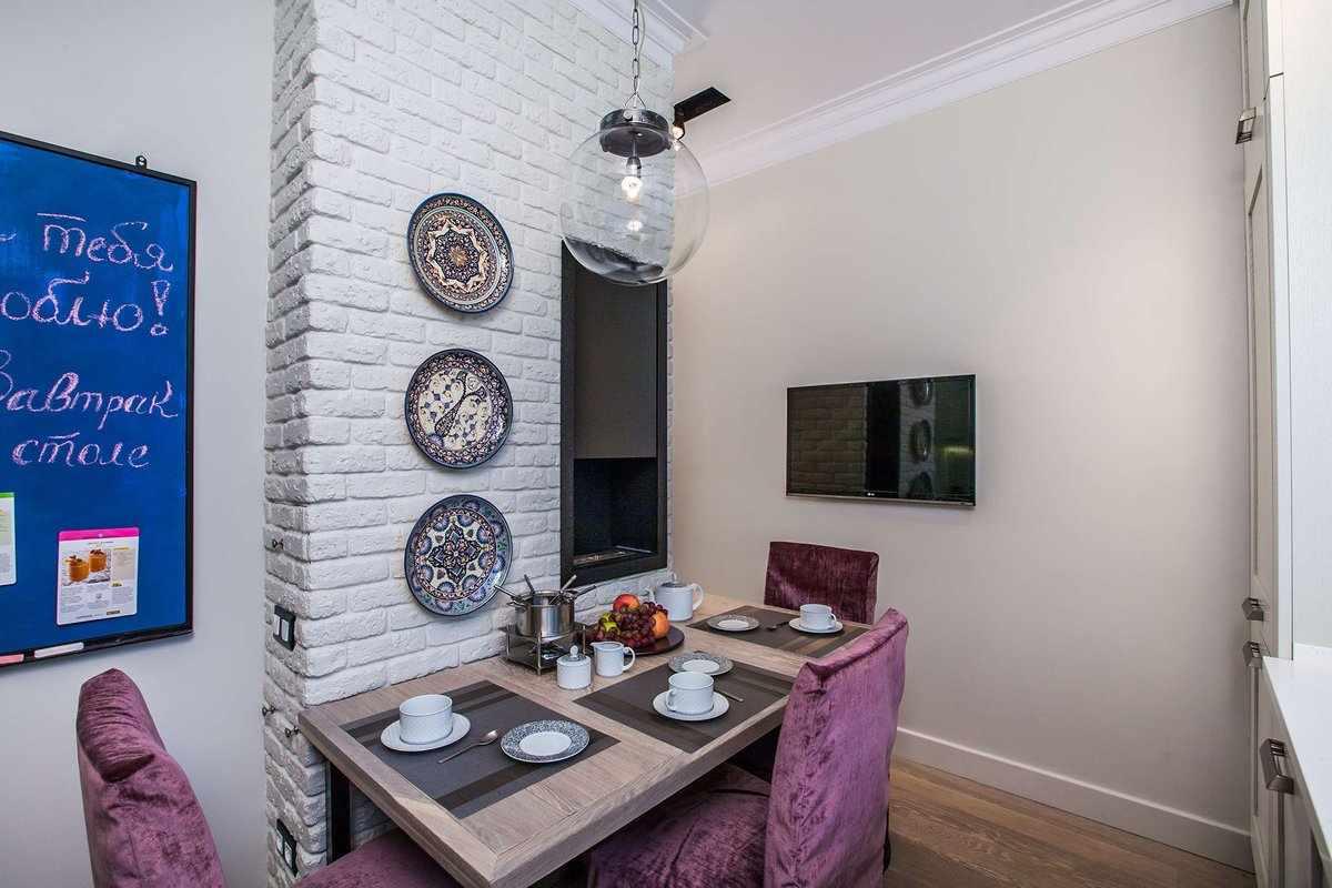 Декоративное оформление стен на кухне