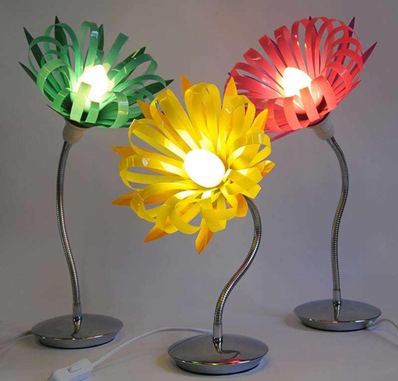 Плафоны для светильников из бутылок