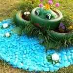 Прудик с лягушкой