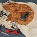 Обтягиваем тканью