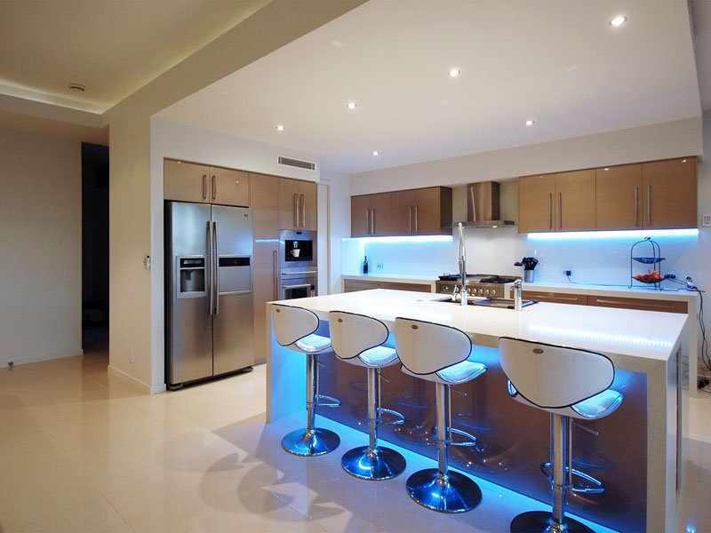 LED-подсветка на кухне