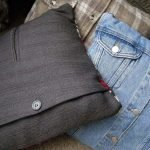 Из старых пиджаков и курток