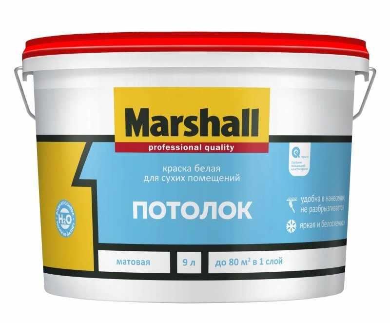 Минеральная краска для потолка