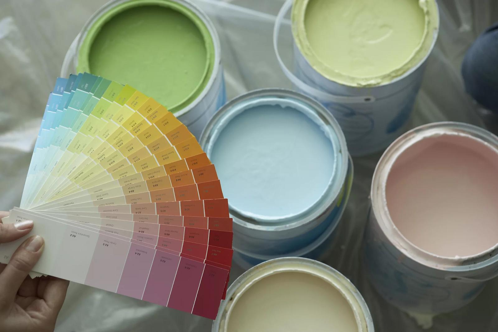 Подготовка краски