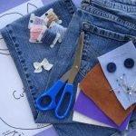 Ножницы, нитки, иголки и джинсы