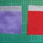 Джинсы прилаживаем к подкладочной ткани