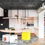 Интерьер лофт кухни