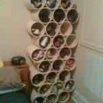 Обувь в ячейках из труб