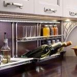 Полки подвесные на кухне