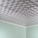 3Д плитка на потолке