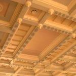 Подшивной потолок с узором