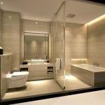 Потолок из гипсокартона ванна