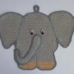 Прихватка слон